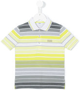 Boss Kids - striped polo shirt - kids - Cotton - 6 yrs