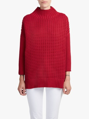 French Connection Popcorn High Neck Jumper