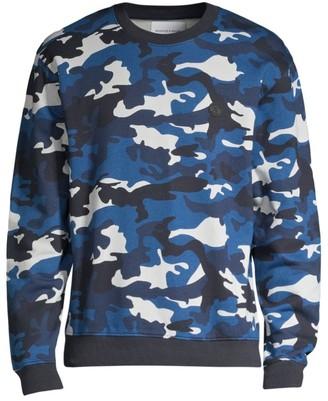 The Kooples Long-Sleeve Camo Sweatshirt