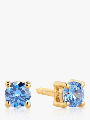 Sif Jakobs Jewellery Solitaire Cubic Zirconia Round Stud Earrings