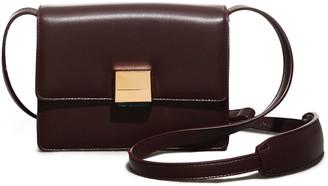 Gabriela Hearst 'MERCEDES' Messenger leather Bag