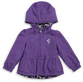 London Fog Girls 2-6x Reversible Fleece Jacket