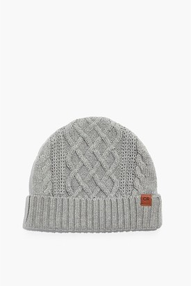 Country Road Twist Knit Beanie