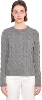 Polo Ralph Lauren Julianna Merino Wool & Cashmere Sweater
