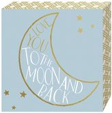 """Belle Maison """"Love you to the Moon"""" Box Sign Art"""