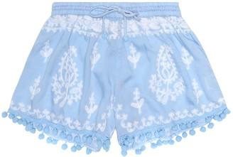 Melissa Odabash Kids Baby Sienna floral-embroidered shorts