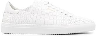 Axel Arigato Clean 90 crocodile-embossed sneakers