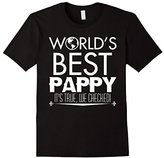Mens World' best Pappy it's true, We Checked! T shirt