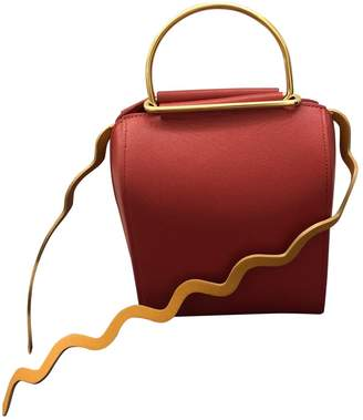 Roksanda Red Leather Handbags