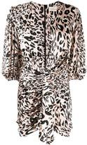 Alexandre Vauthier leopard-print dress