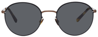 Mykita Copper and Black Lite Vabo Sunglasses