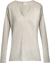 LE KASHA Men's V-neck cashmere sweater
