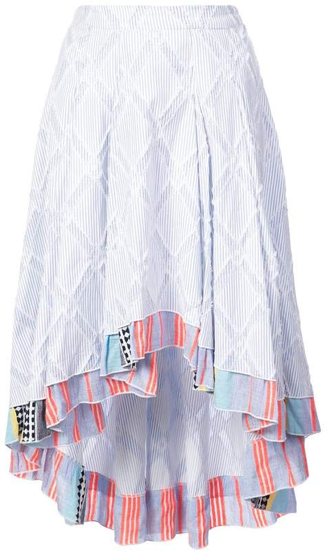 Lemlem Besu Pleated Skirt