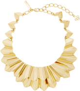 Oscar de la Renta Gold-Tone Brass Necklace