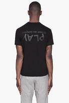 Comme des Garcons Black Tonal Logo T-shirt