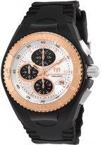 Technomarine Women's Cruise 40mm Black Silicone Band Quartz Watch Tm-115292
