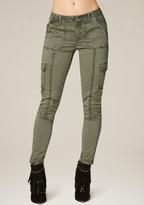 Bebe Autumn Skinny Cargo Pants