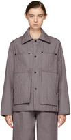 Craig Green Purple Quilted Workwear Jacket