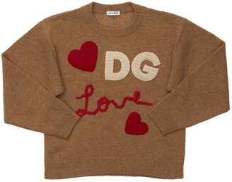 Dolce & Gabbana Wool & Cashmere Blend Knit Sweater