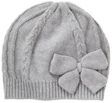 Crazy 8 Bow Cable Hat