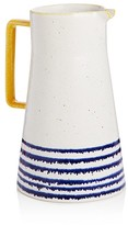 Sparrow & Wren Blue Stripe Pitcher - 100% Bloomingdale's Exclusive