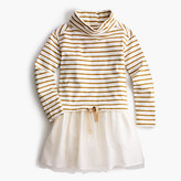 J.Crew Girls' turtleneck-and-tulle dress