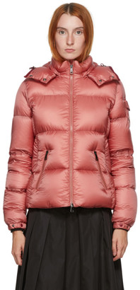 Moncler Pink Down Fourmi Coat