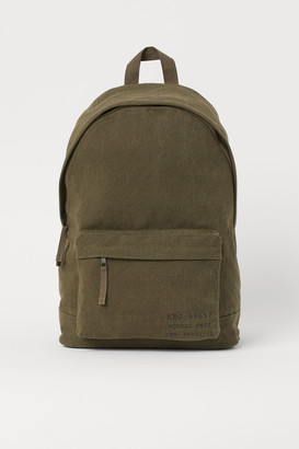 H&M Canvas Backpack