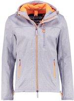 Superdry Summer Jacket Dark Grey Marl/fluro Orange