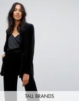 Vero Moda Tall Velvet Jacket
