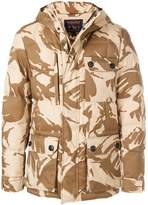 Woolrich camouflage padded jacket