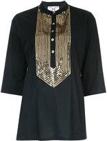 Figue Jasmine blouse - women - Cotton/Sequin - M