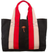 Tomas Maier Grosgrain-Accented Canvas Tote