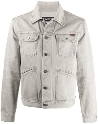 Tom Ford Multi-Pocket Denim Jacket