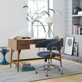 west elm Mid-Century Desk - Acorn