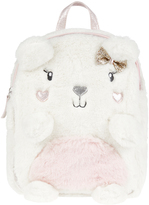 Accessorize Paula Polar Bear Fluffy Backpack