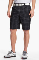 Under Armour 'Forged Plaid 3.0' Shorts Black/ Graphite 38