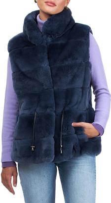 Gorski Horizontal Rex Rabbit Vest