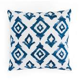 "Minted Throw Pillows Moroccan Diamonds 18"" x 18"