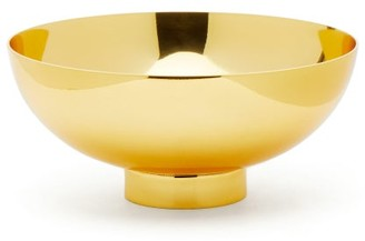 AERIN Sintra Medium Metallic Bowl - Gold