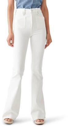 DL1961 Rachel 35 High Rise Flare Jeans