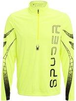 Spyder Powertrack Sports Shirt Yellow