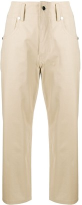 Sofie D'hoore High-Rise Straight Leg Chinos