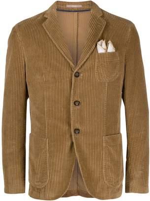 Paoloni corduroy tailored blazer