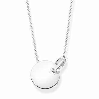 Thomas Sabo Women Sterling Silver Not Applicable Necklace - KE1948-637-21-L60v
