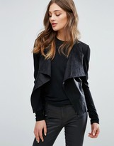 Only Sound Faux leather Jacket