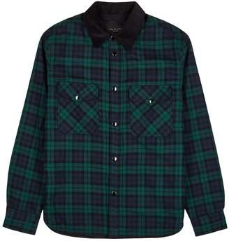 Rag & Bone Checked Padded Cotton Jacket