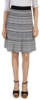 Gerard Darel Julie Jacquard Knit Skirt