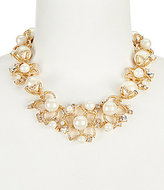Kate Spade Pearl Bouquet Statement Necklace