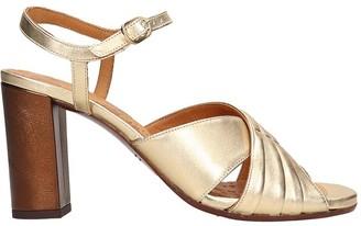 Chie Mihara Bitia P Sandals In Gold Leather